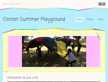 Tablet Preview of clintonsummerplayground.org